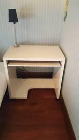 Ikea ivory coloured desk