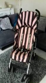 Maclern Juicy couture pram with everything lots of extras in good condition