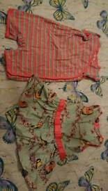 Ted baker bird dress and romper 3-6 months ex condition