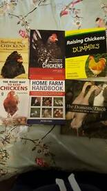various chicken /duck book