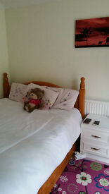 3 doule rooms to rent in an immaculate bungalow. Call 07885640592.