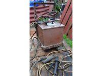 Oxford oil cooled welder