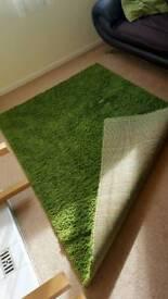 green rug IKEA