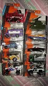 Assorted set of 10 matchbox cars