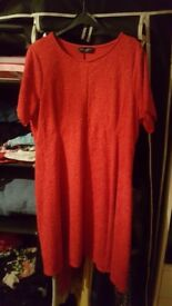 red dorothy perkins dress