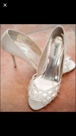 Diamanté Wedding shoes