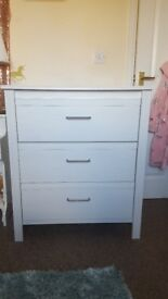 Chest of Ikea drawers