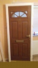 Secondhand UPVC Door - free to good home - must collect