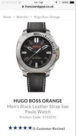 Hugo Boss Orange Watch