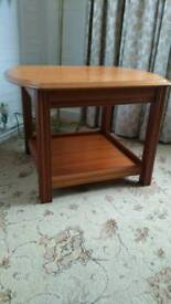 Reduced for quick sale... Solid oak ocassional table