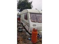 Eccles emerald elite twin axle 5-6 berth caravan 1990...