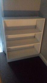 Ikea white book case