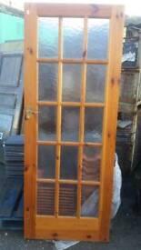 15 glass panel internal door (#274)