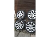 Audi tt rs4 wheels and tyres 18 inch