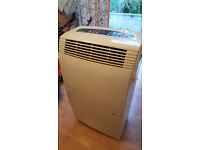 Free standing home air conditioner unit on wheels