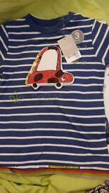 Bnwt set of 3 t-shirts from Next for size 2-3 years