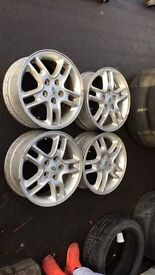 p38 Range Rover/td5 discovery alloy wheels