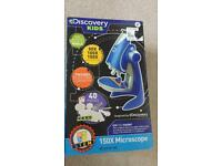 NEW Discovery kids microscope present toy 8+