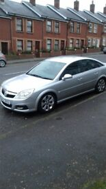Vauxhall Vectra 2008 silver 1.9