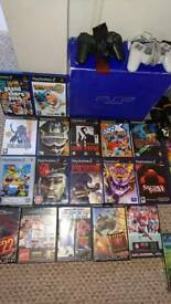 PS2 Playstation Boxed Console & Games