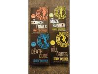 Maze runner series books