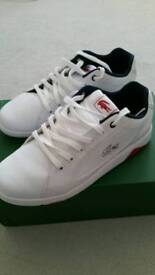 Lacoste Trainers Brand New in box uk7