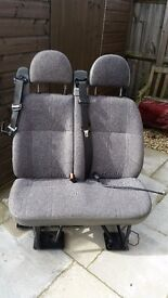Transit minibus seats, doubles and singles in good clean condition