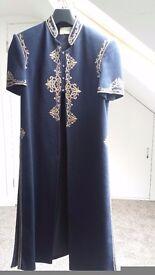 Beautiful Damini's lenga and overcoat. £50. Size 8