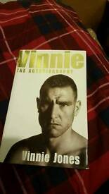 Vinnie jones book