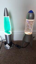 2 x light rockets / snob globes