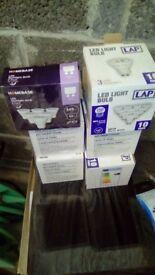 Approx 50 gu10 halogen bulbs