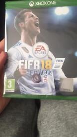 Fifa 18 still sealed Xbox one £40
