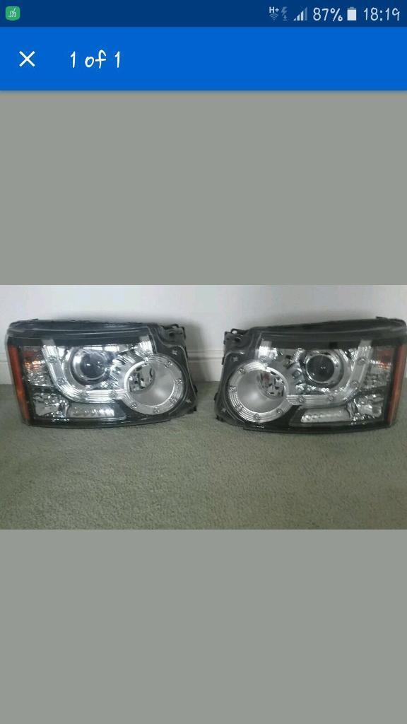 Discovery head lights