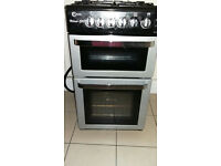 Silver /black Flavel Gas Cooker 500mm wide, clean and in good condition