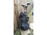 WILLIAMS GOLF BAG WITH EXTRAS