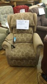Sitting Pretty Newark Dual Motor Riser Recliner Chair with Heat & Massage, Delivery Available