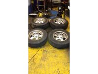Landrover discovery alloy wheels