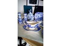 Beautiful Spode Blue Italian Pattern Fine China