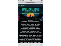 Wildlife Festival Weekend Ticket