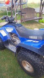 Yamaha 125 quadbike