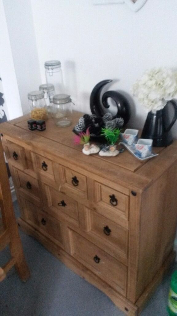 Mexican pine sideboards x 2in Torquay, DevonGumtree - 2 large Mexican sideboards in good condition larger one £60 needs new screws for handles as there loose other one £50 less then a year old needs a little wood glue for top otherwise very good condition