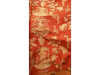 Curtains , GP & J Baker Luxury Curtains full length for large 'L' shaped window (3 pairs)