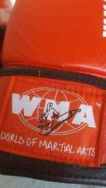 WMA boxing gloves kids size m.