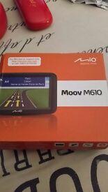 Mio Moov M610 sat nav.unused gift. £20 ono