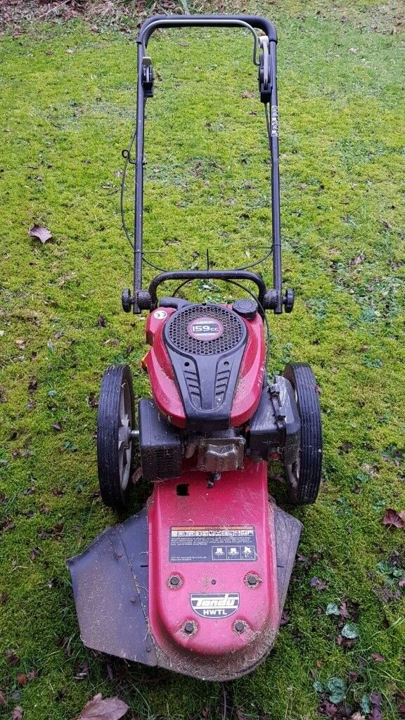 Tondu Petrol Wheeled Strimmer Very Good Condition Hp10