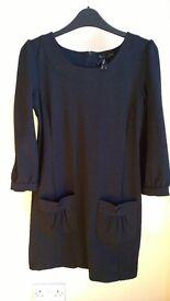 Cute black dress, next size 8
