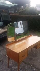 Retro 1950's dressing table (Alfred Cox)