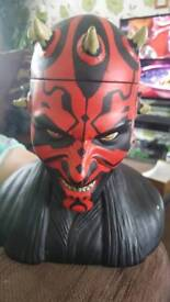 Star Wars Darth Maul figure Head