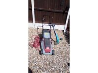 pattield eco 1540 lawn mower and garden strimmer Electric
