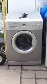 **BEKO**7 KG**SILVER**WASHING MACHINE**ENERGY RATING: A+** COLLECTION\DELIVERY**